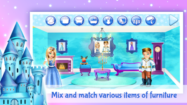 Ice Princess Doll House Design screenshot 5
