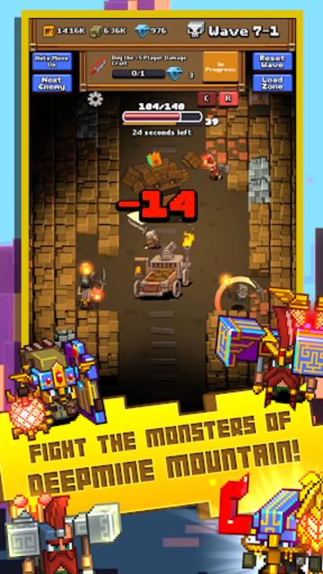 Idle Mine RPG screenshot 1