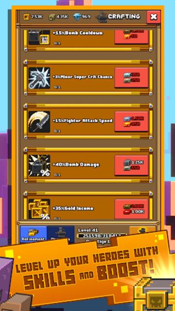 Idle Mine RPG screenshot 4