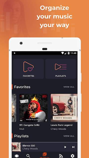 DaMixhub Mixtape & Music Downloader screenshot 4