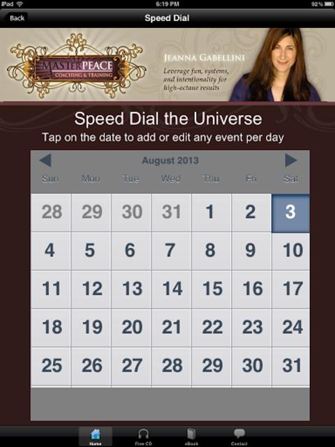 Speed Dial the Universe screenshot 6