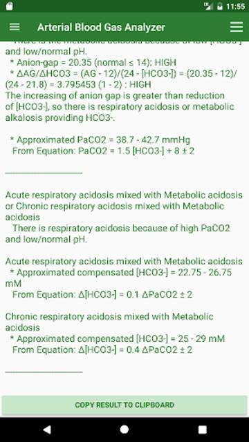 ABG Analyzer (Pro) screenshot 3