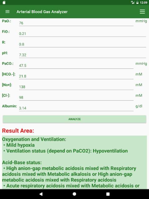 ABG Analyzer (Pro) screenshot 9