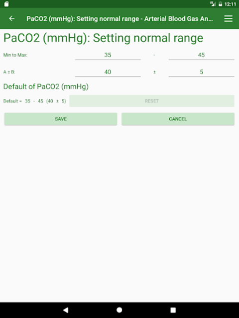 ABG Analyzer (Pro) screenshot 15