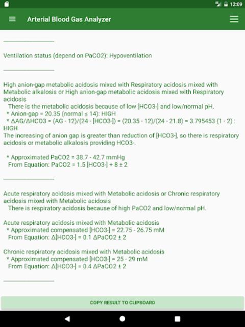 ABG Analyzer (Pro) screenshot 18
