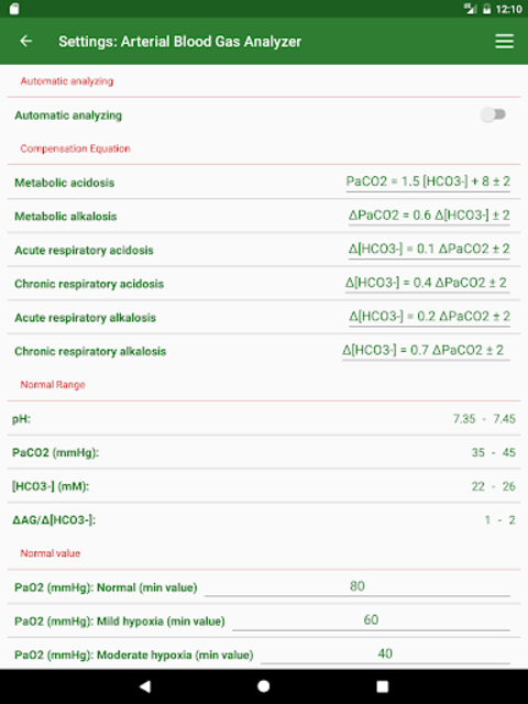 ABG Analyzer (Pro) screenshot 21