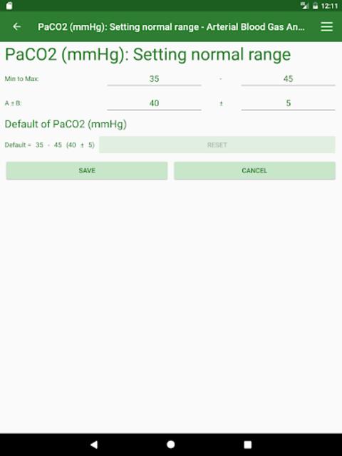 ABG Analyzer (Pro) screenshot 22