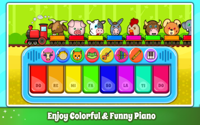Baby Piano Games & Music for Kids & Toddlers Free screenshot 2