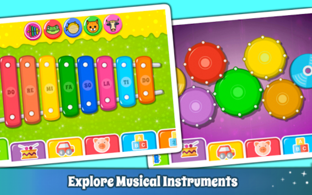 Baby Piano Games & Music for Kids & Toddlers Free screenshot 3