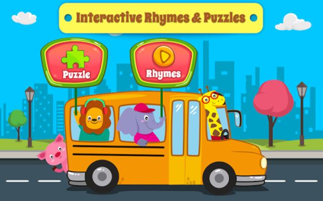Nursery Rhymes Songs & Kids Puzzle Games Free screenshot 1