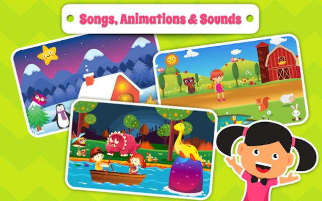 Nursery Rhymes Songs & Kids Puzzle Games Free screenshot 2