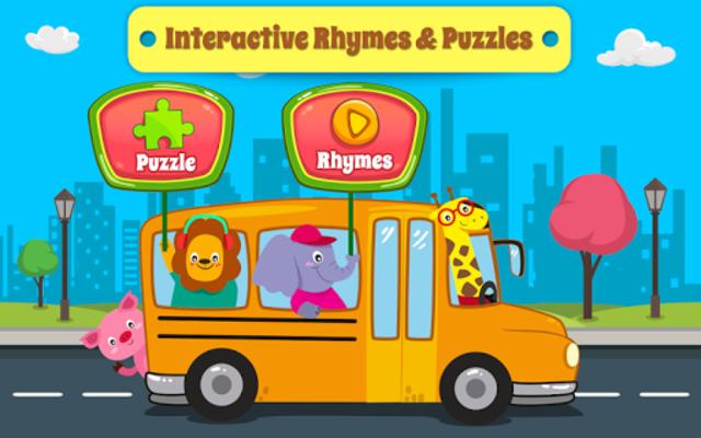 Nursery Rhymes Songs & Kids Puzzle Games Free screenshot 6