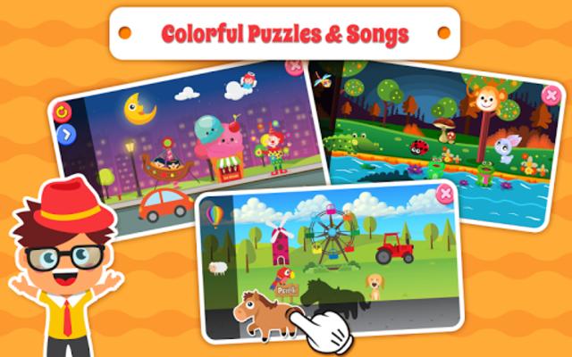 Nursery Rhymes Songs & Kids Puzzle Games Free screenshot 13