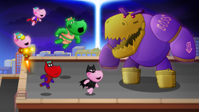 Kids Superheroes free screenshot 10