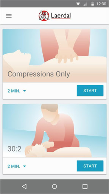 QCPR Learner screenshot 1