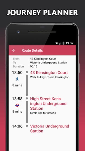 Buses Due: London bus times & TfL city map planner screenshot 4
