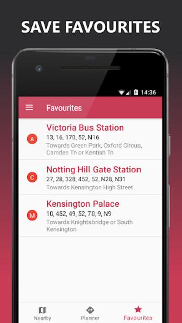Buses Due: London bus times & TfL city map planner screenshot 7