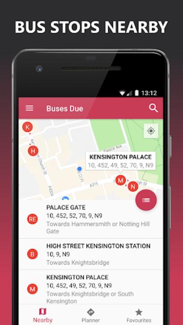 Buses Due: London bus times & TfL city map planner screenshot 3