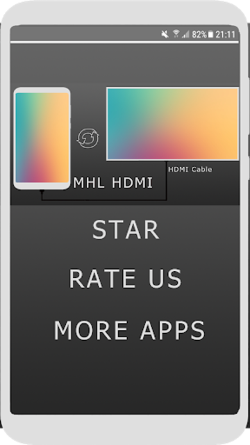 MHL HDMI - Phone To TV screenshot 1