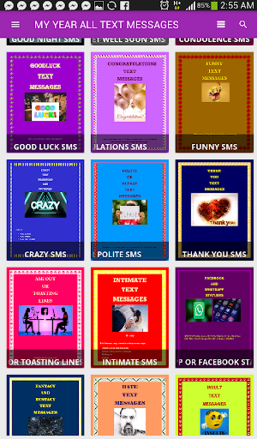 Text messages for all occasions (free) screenshot 3