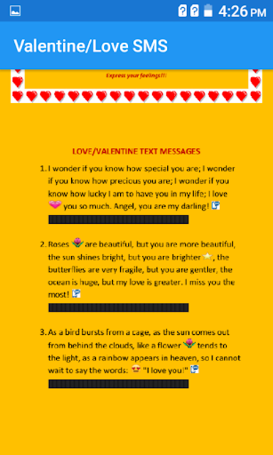 Text messages for all occasions (free) screenshot 6