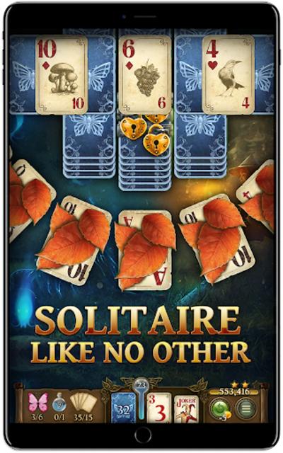 Solitaire Fairytale screenshot 1