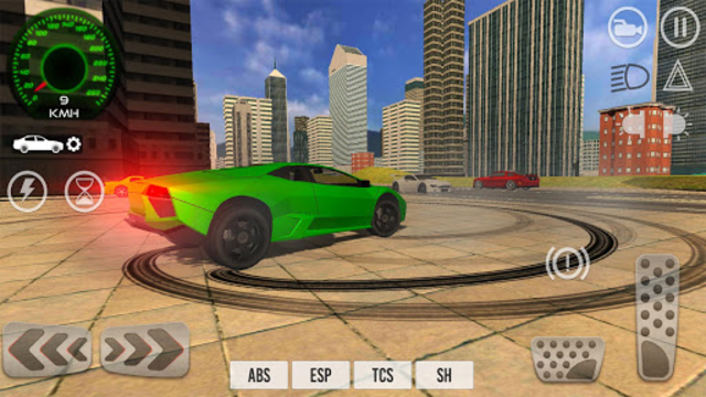 Car Driving Simulator 2017 screenshot 15