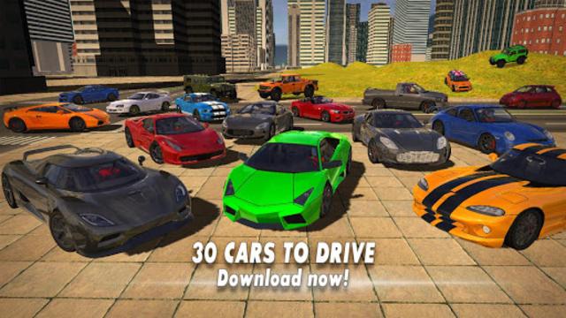 Car Driving Simulator 2017 screenshot 13
