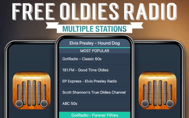 Free Oldies Radio screenshot 1