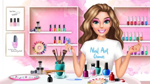 3D Nail Art Games for Girls screenshot 1