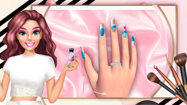 3D Nail Art Games for Girls screenshot 3