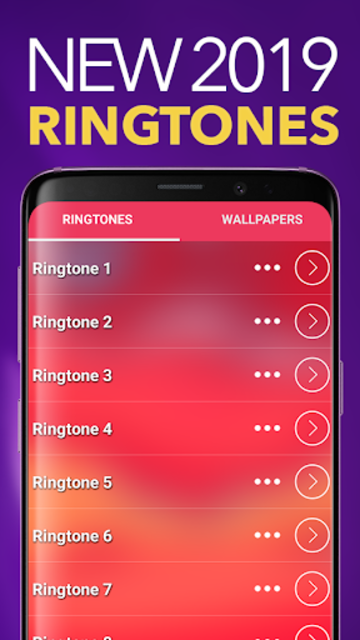 New Ringtones 2019 screenshot 1