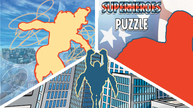 Superheroes Puzzles - Wooden Jigsaw Puzzles screenshot 7