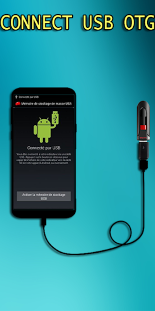 Otg Usb Driver with android screenshot 2