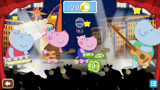 Kids music party: Hippo Super star screenshot 4