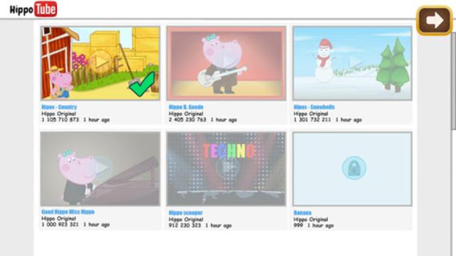 Kids music party: Hippo Super star screenshot 6