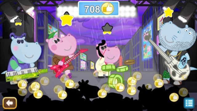 Kids music party: Hippo Super star screenshot 23