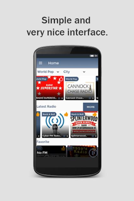 Free Panora Music & Radio screenshot 1