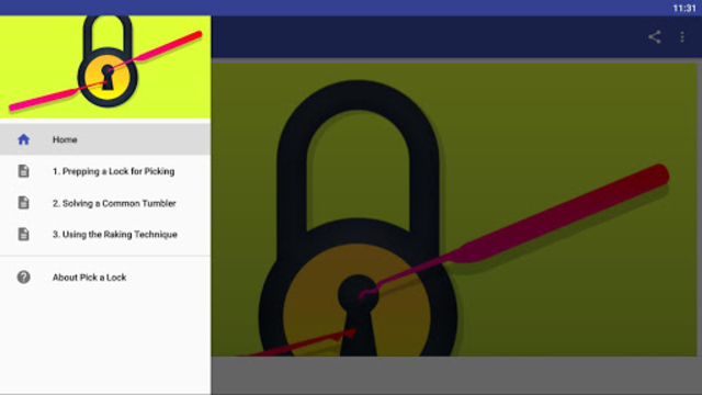 Pick a Lock screenshot 1