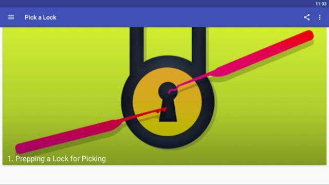 Pick a Lock screenshot 2