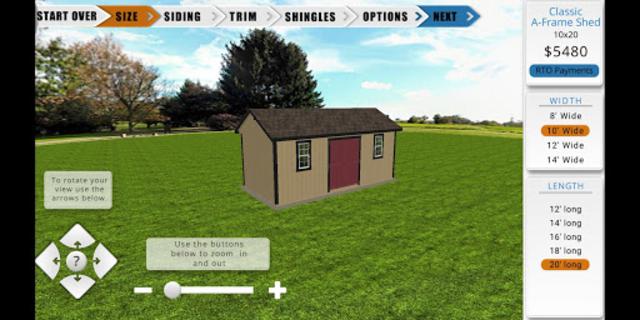 The Shed Yard 3D Customizer screenshot 2