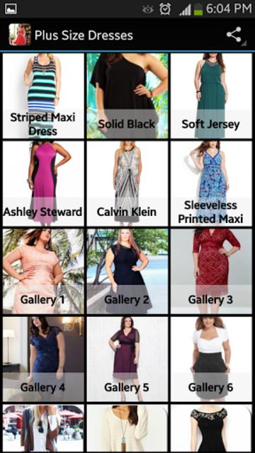 Plus Size Dresses screenshot 1