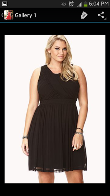 Plus Size Dresses screenshot 7