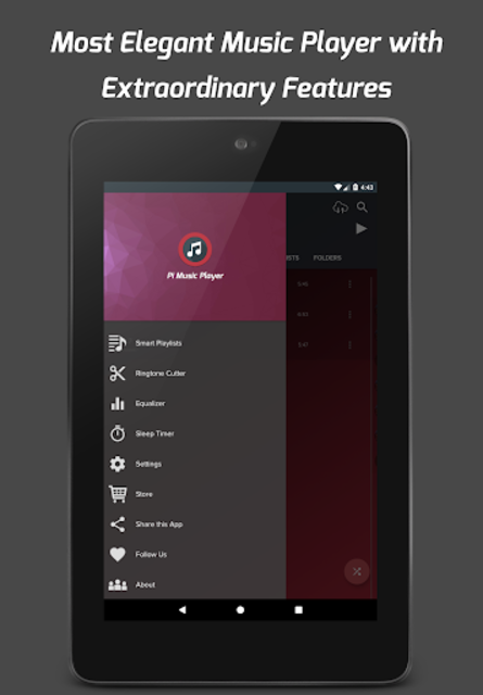 Pi Music Player - MP3 Player, YouTube Music Videos screenshot 11