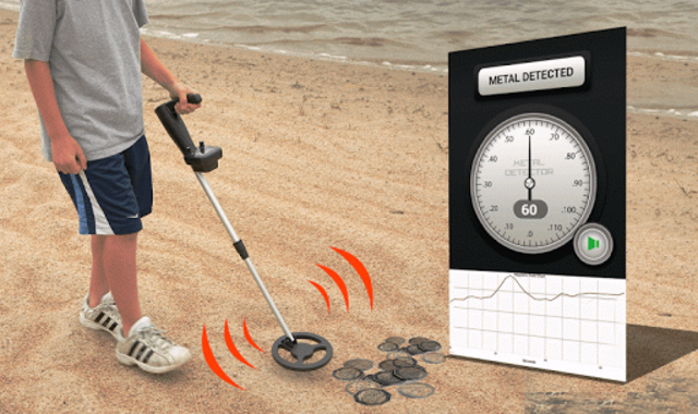 Metal Detector screenshot 1