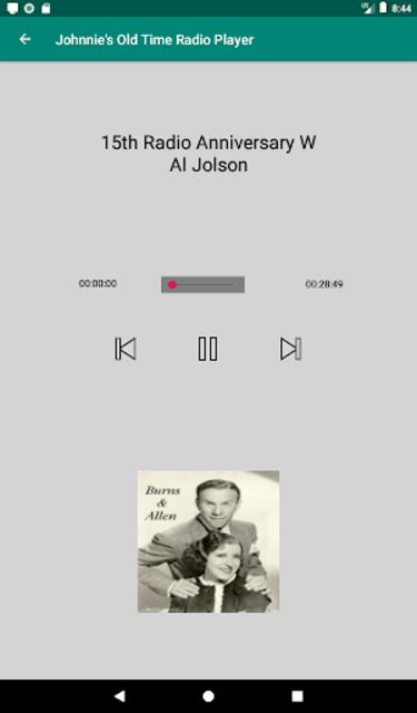 Johnnie's Old Time Radio screenshot 15