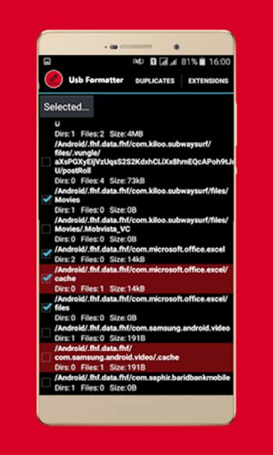usb data Formatter - Repair usb screenshot 2
