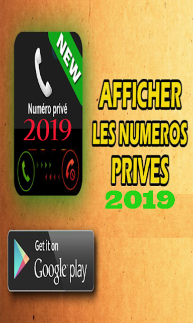 Show private number 2019 screenshot 1