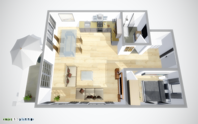 3D Floor Plan | smart3Dplanner screenshot 1
