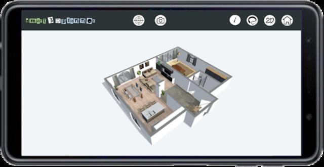 3D Floor Plan | smart3Dplanner screenshot 2